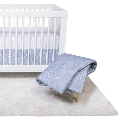 Trend Lab Crib Bedding Set - Save the Polar Bears - 4pc