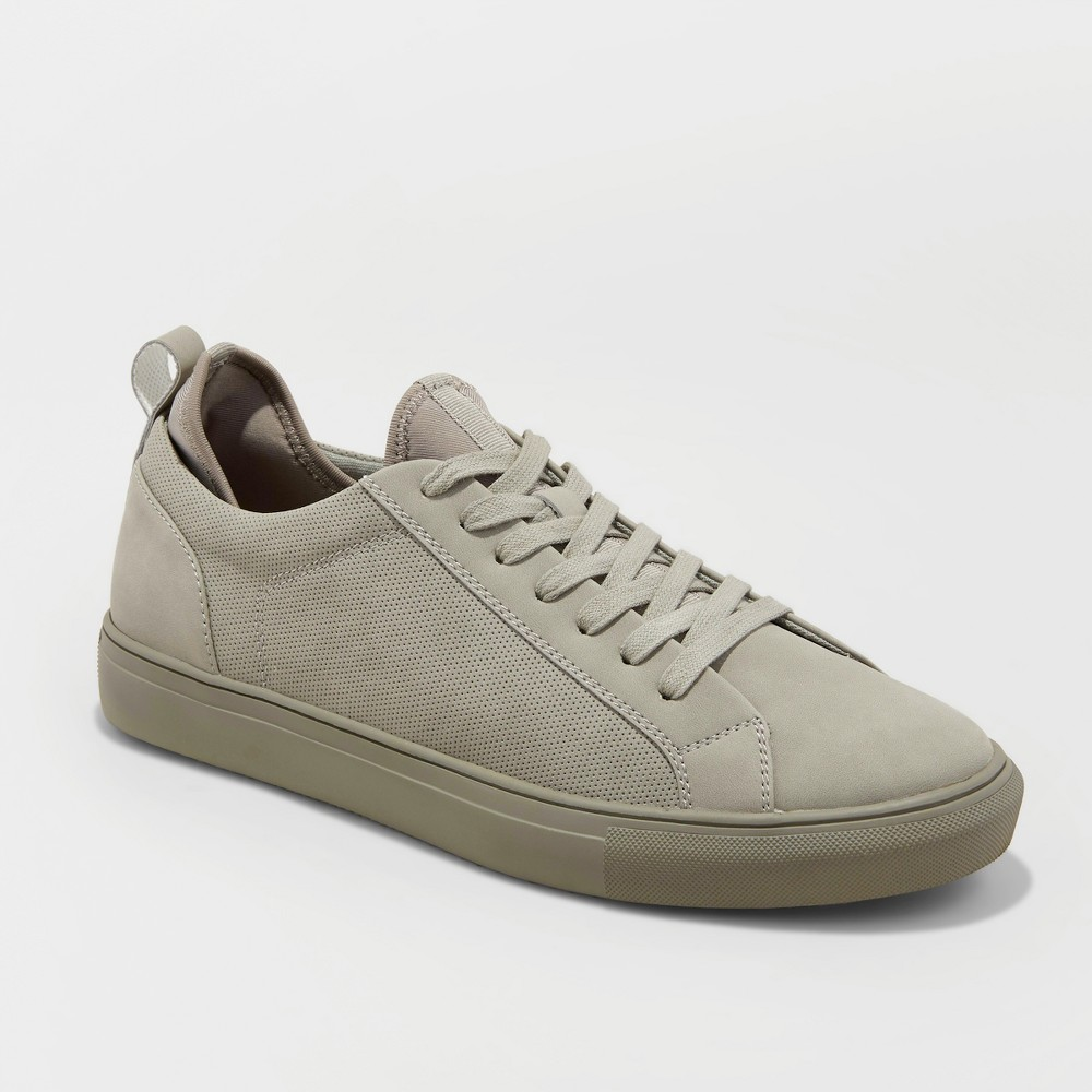 Men's Parker Casual Sneakers - Goodfellow & Co Grey 14, Gray