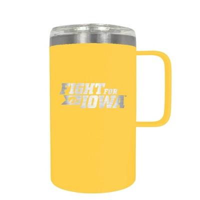 NCAA Iowa Hawkeyes 18oz Hustle Travel Mug
