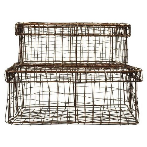 Wire Baskets with Lids - 3R Studios - image 1 of 1