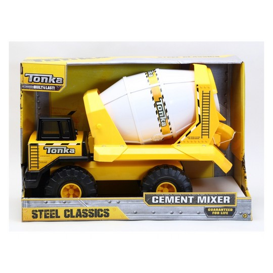 Tonka Steel Cement Mixer, toy vehicles image number null