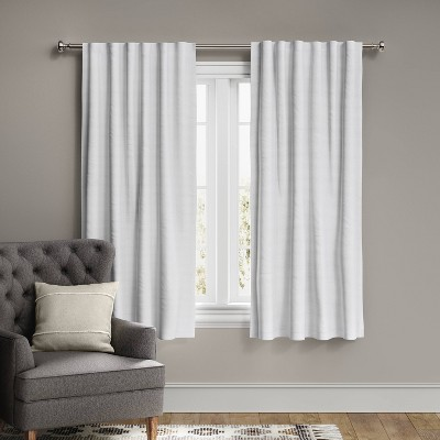 Voile Overlay Blackout Window Curtain Panel - Threshold™