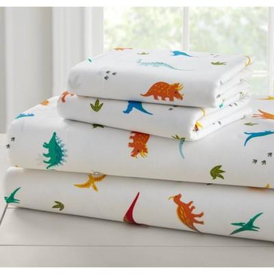 Toddler Jurassic Dinosaurs Super Soft 100% Cotton Sheet Set - WildKin