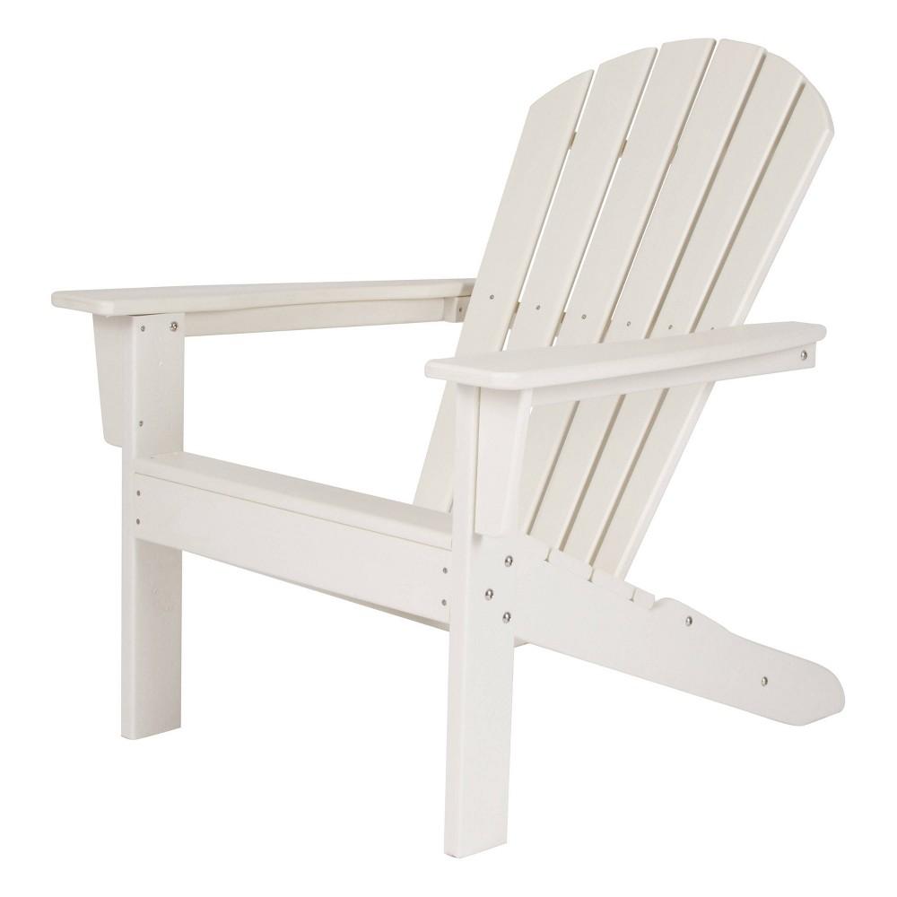 Seaside Plastic Adirondack Chair White - Shine Company Inc.