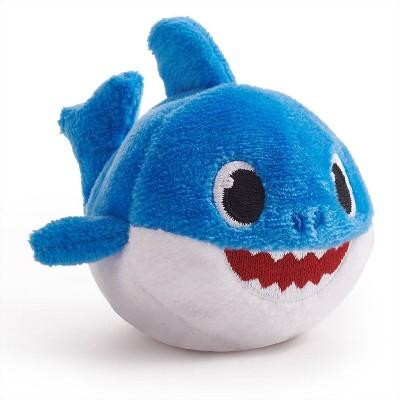 Baby Shark Plush Mini with Sound - Daddy Shark