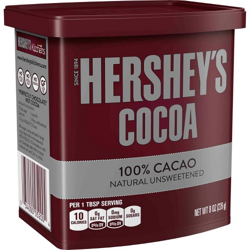 Hershey's Natural Unsweetened Cocoa - 8oz - image 1 of 2