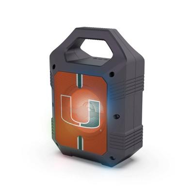 NCAA Miami Hurricanes Bluetooth Speaker with LED Lights