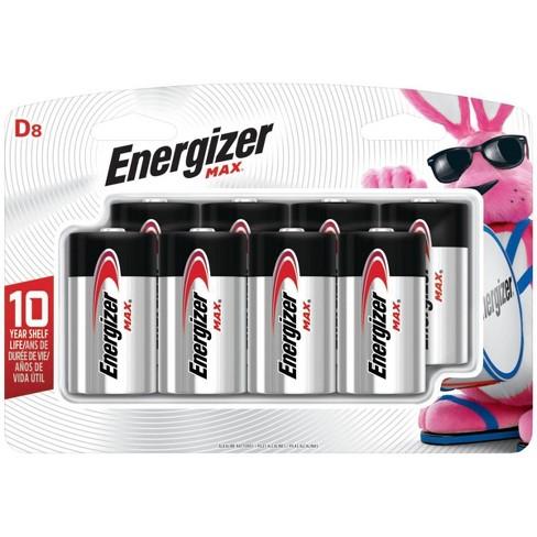 Energizer Max D Batteries 8 ct (E95BP-8H) - image 1 of 2