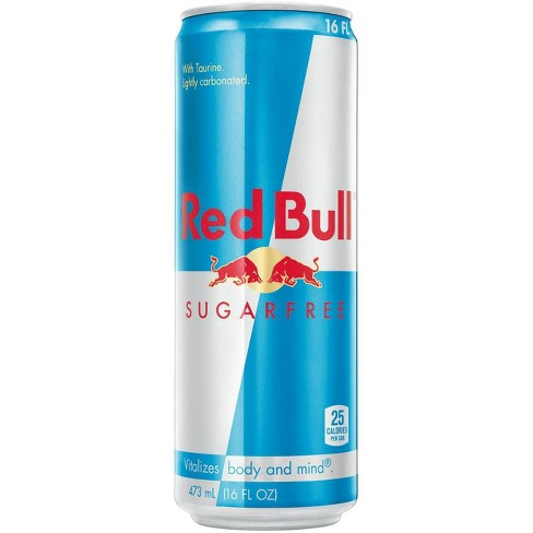Red Bull Sugar Free Energy Drink - 16 fl oz Can - image 1 of 2