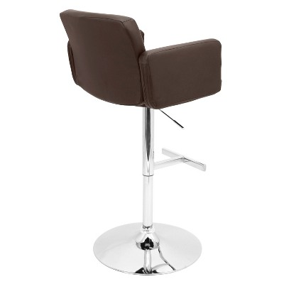 'Lumisource Stout 32'' Barstool - Brown'