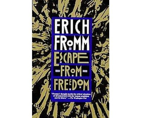 Escape from Freedom (Paperback) (Erich Fromm) - image 1 of 1
