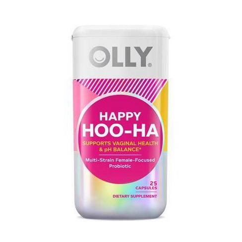 OLLY Happy Hoo-Ha Women Probiotic Capsules - 25ct - image 1 of 4
