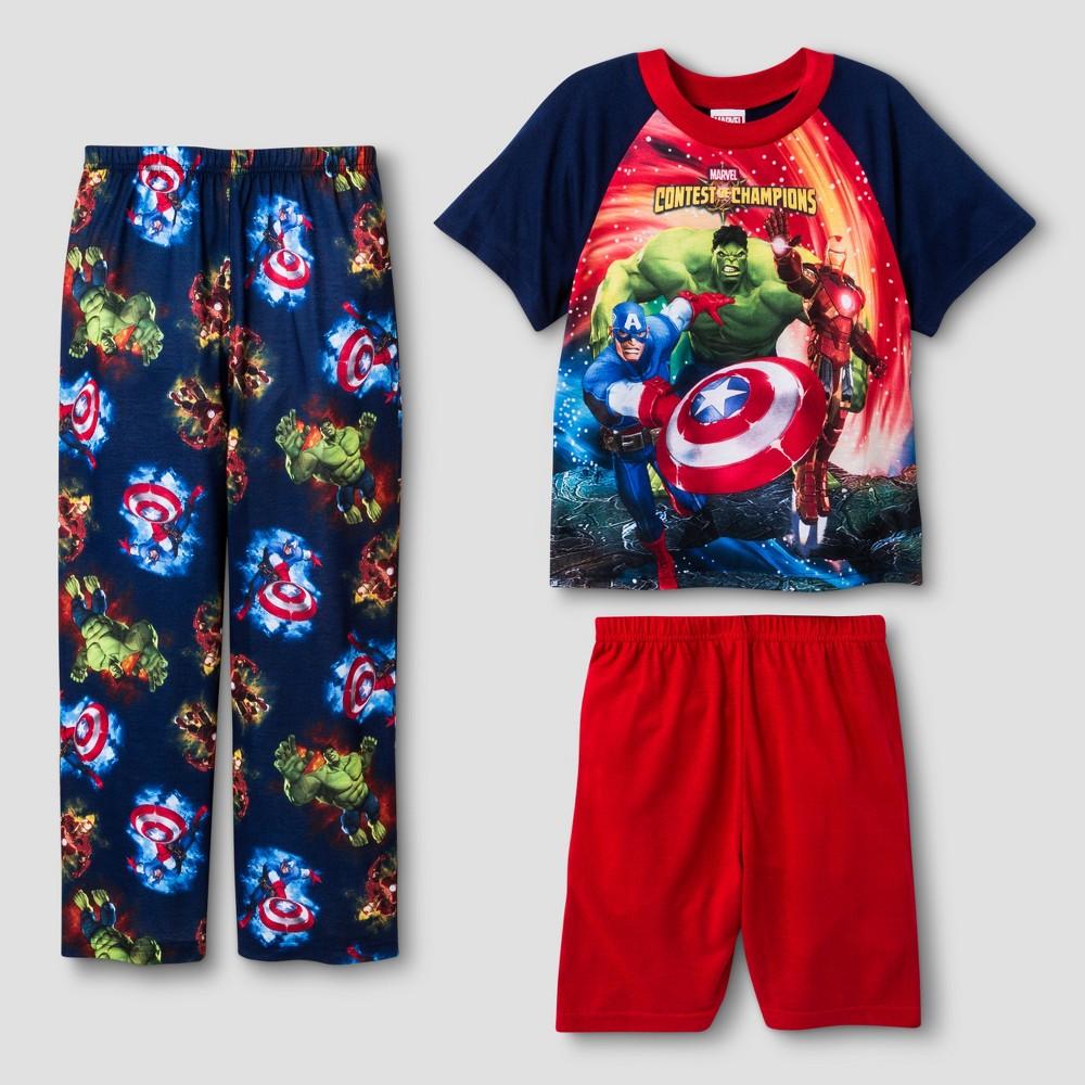 Boys' Marvel Avengers Pajama set 8, Blue