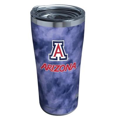 NCAA Arizona Wildcats 20oz Tie Dye Stainless Steel Tumbler