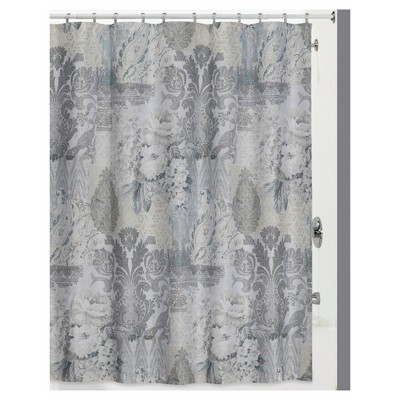 Heirloom 13 Piece - Shower Curtain & Hook 12pc Set Gray - Creative Bath®
