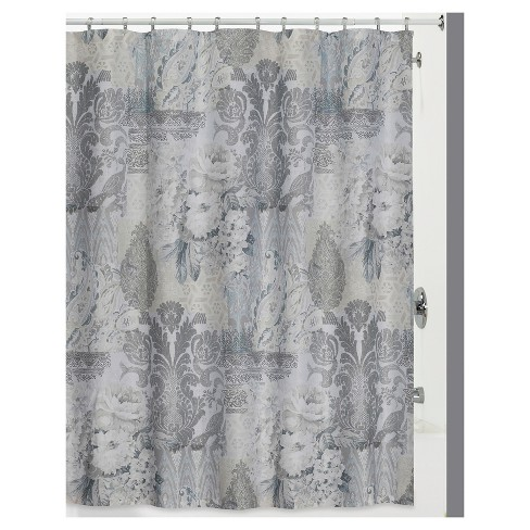 13pc Heirloom Shower Curtain And Hook