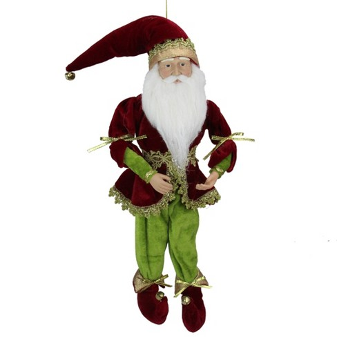 """Northlight 18"""" Red and Green Whimsical Elf Christmas Decor Figurine - image 1 of 4"""