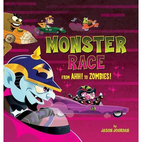 Monster Race - by  Jason Jourdan (Hardcover) - image 1 of 1