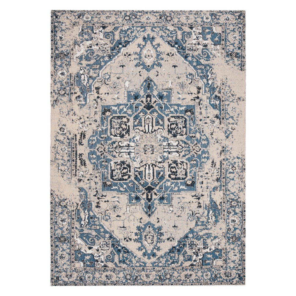 4'X6' Medallion Loomed Area Rug Blue - Safavieh