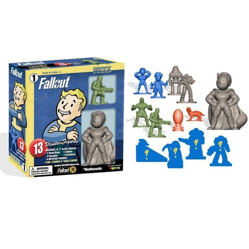 Toynk Fallout Nanoforce Series 1 Army Builder Figure Collection - Boxed Volume 1 - image 1 of 4