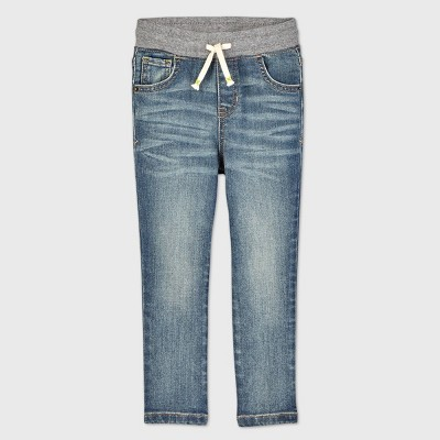 Toddler Boys' Pull-On Skinny Jeans - Cat & Jack™ Light Wash