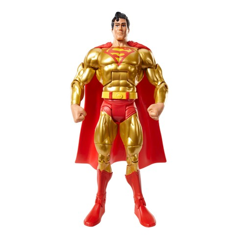 DC Comics Super Powers Collection Gold Superman Figure - image 1 of 4