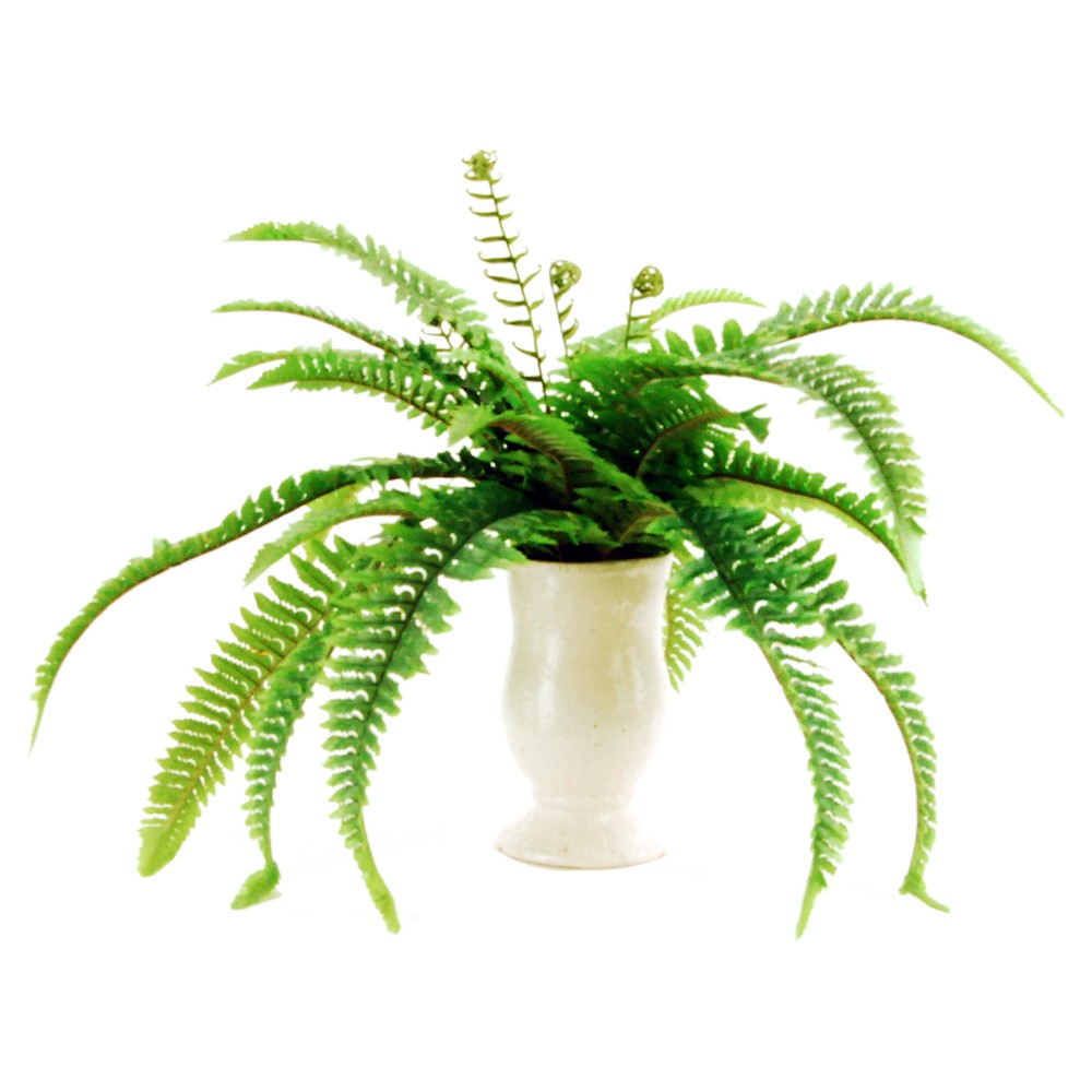 Image of Artificial Fern Plant Green 16 - Lcg Florals