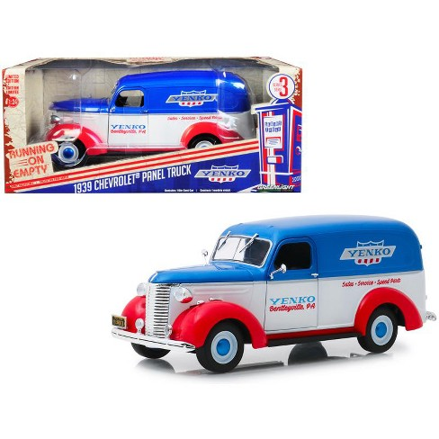 """1939 Chevrolet Panel Truck """"Yenko Sales and Service"""" """"Running on Empty"""" Series 3 1/24 Diecast Model Car by Greenlight - image 1 of 2"""