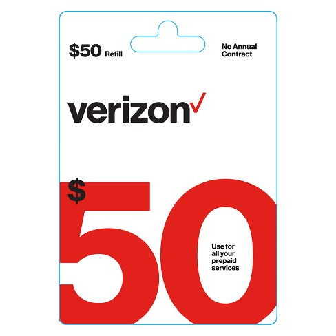 Verizon Wireless Prepaid Refill Card (Email Delivery) - image 1 of 1