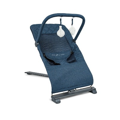 Baby Delight Go with Me Alpine Deluxe Portable Bouncer - Quilted Indigo