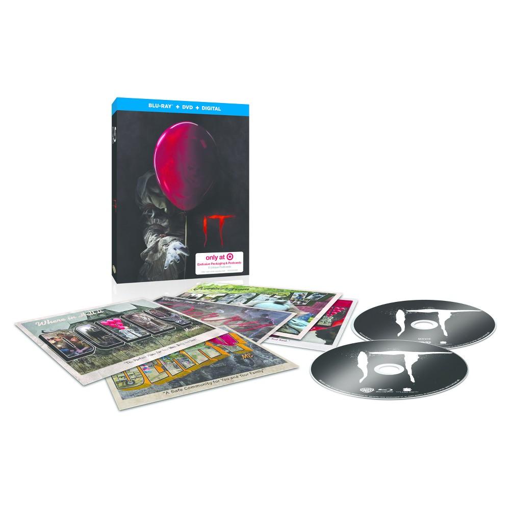 It: Target Exclusive Lenticular Packaging & Postcards (Blu-ray + Dvd + Digital)