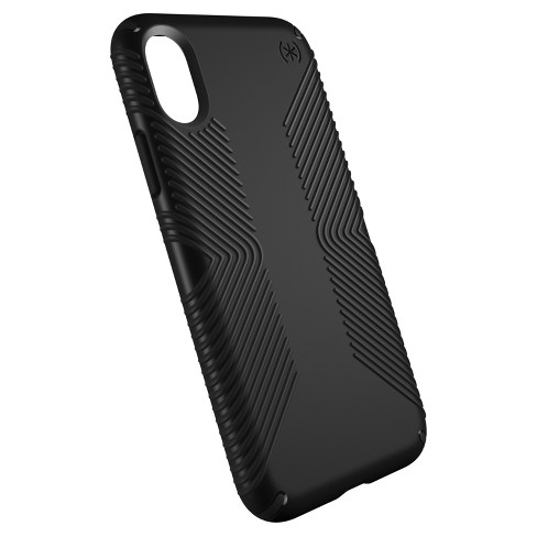 newest bbe5e 64d78 Speck iPhone X Case Presidio Grip - Black