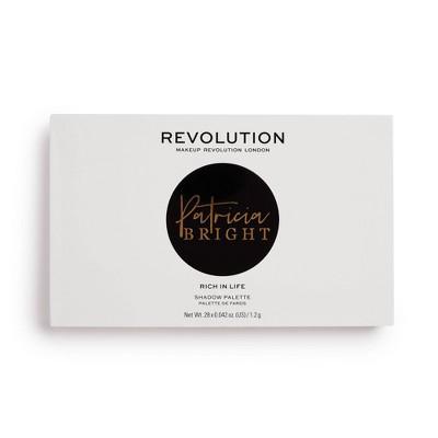 Makeup Revolution x Patricia - Rich In Life Palette - 0.5oz