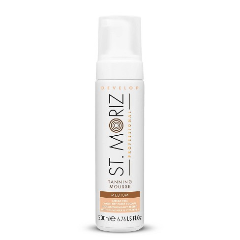 St. Moriz Professional Instant Medium Self Tanning Mousse - 6.76oz - image 1 of 4