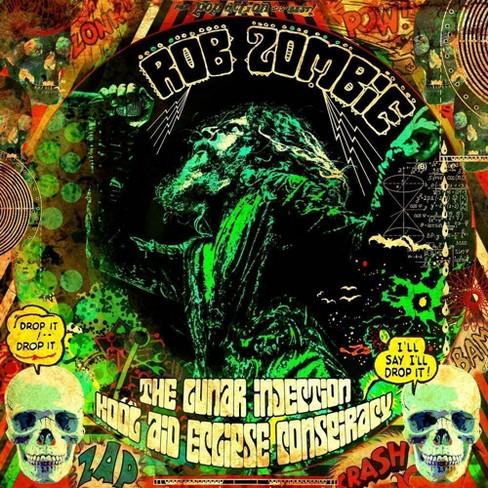 Rob Zombie - Lunar Injection Kool Aid Eclipse Conspir (CD) Explicit Lyrics - image 1 of 1