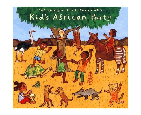 Various - Kids African Party (CD) - image 1 of 1
