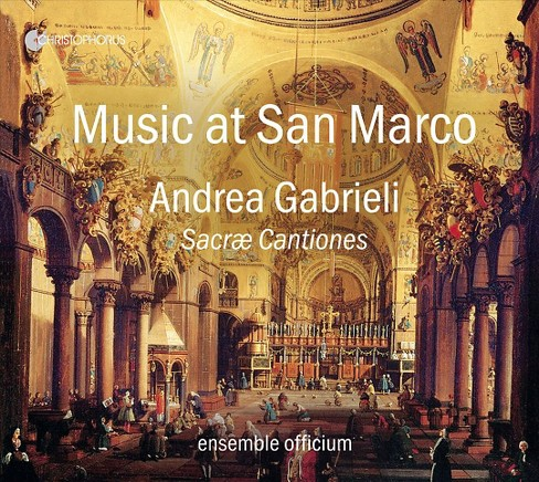 Ensemble officium - Gabrieli:Music at san marco sacrae ca (CD) - image 1 of 1
