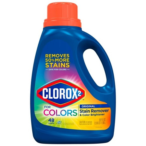 Clorox 2 Laundry Stain Remover and Color Booster, Original Scent, 66 oz - image 1 of 4
