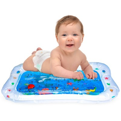 Hoovy Inflatable Tummy Time Water Play Mat