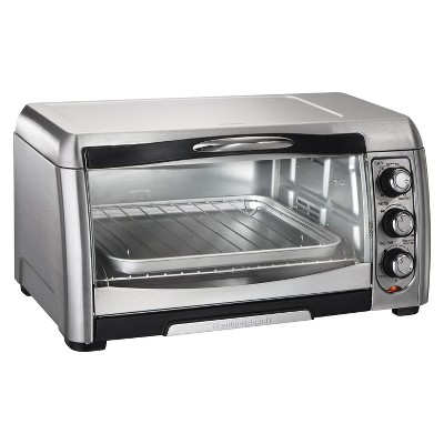 Hamilton Beach 6 Slice Convection Toaster Oven - Stainless Steel/Black- 31333