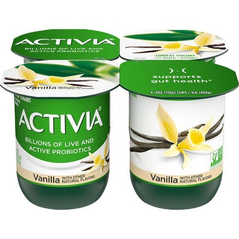 Dannon Activia Vanilla Probiotic Yogurt