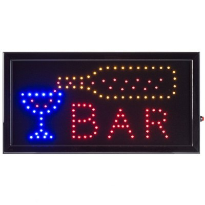 "19""X10"" Neon LED Sign with Animation BAR - Trademark Global"