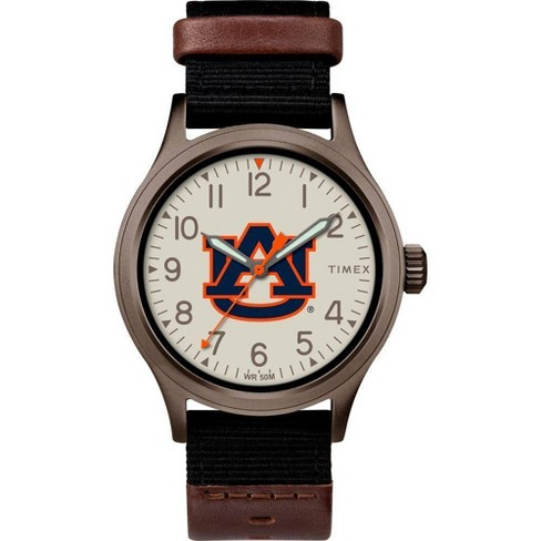 NCAA Auburn Tigers Tribute Collection Clutch Men's Watch - image 1 of 1