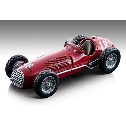 Ferrari 125 F1 #18 Alberto Ascari Formula One F1 Swiss Grand Prix (1950) Ltd Ed 125 pcs 1/18 Model Car by Tecnomodel - image 1 of 3