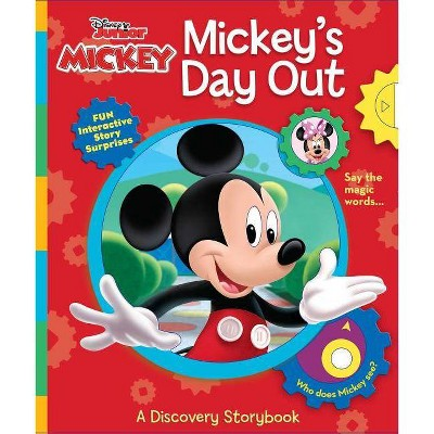 Disney Junior Mickey Mouse: Mickey's Day Out - (Multi-Novelty) by  Susan Amerikaner (Board Book)