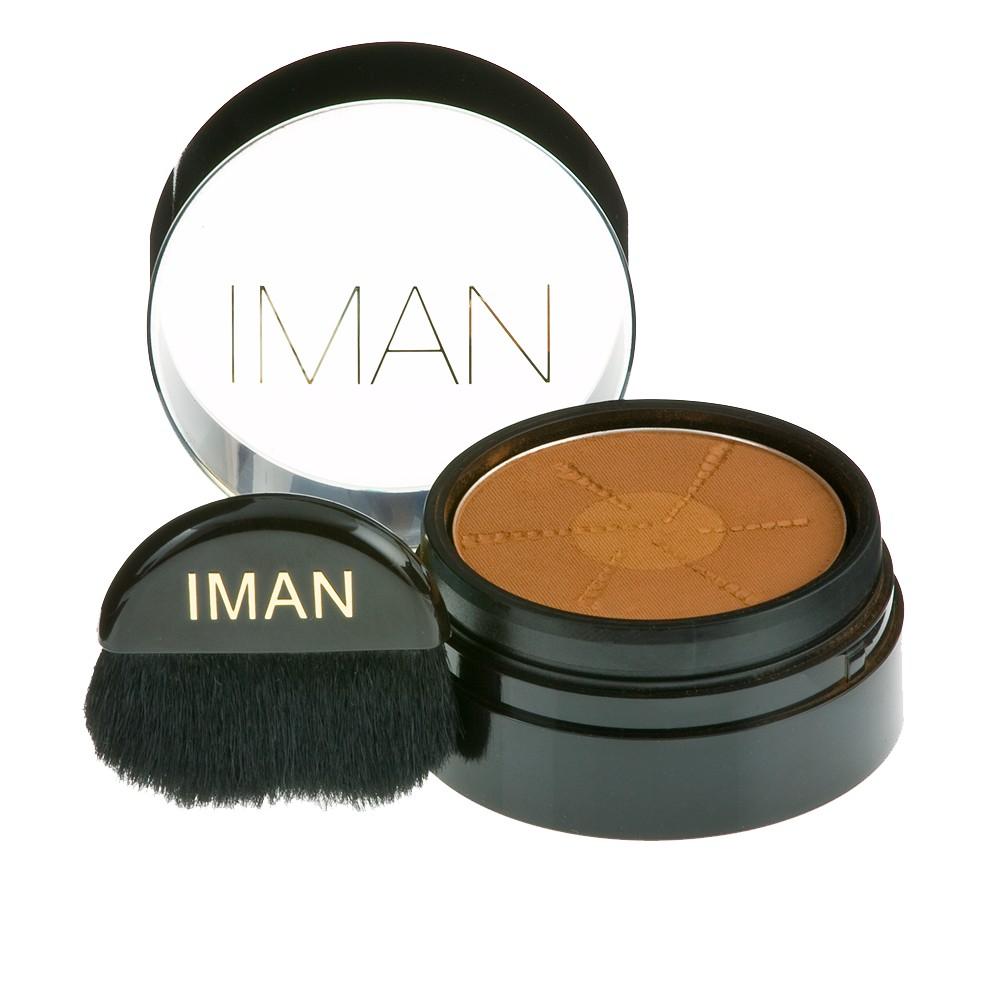 Image of IMAN Second to None Semi Loose Powder - Earth Dark