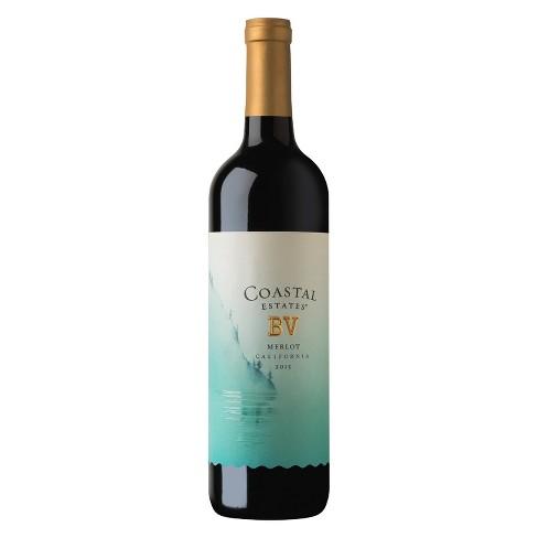 Bv Coastal Merlot Red Wine - 750ml - image 1 of 2