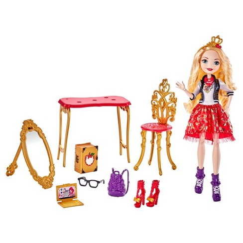 Ever After High Apple White Room To Study Doll - image 1 of 7