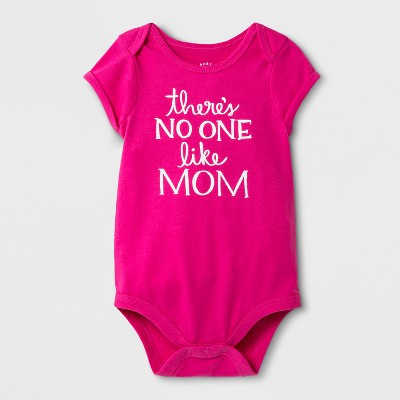 Baby Girls' Bodysuit - Cat & Jack™ Hot Magenta Pink Newborn
