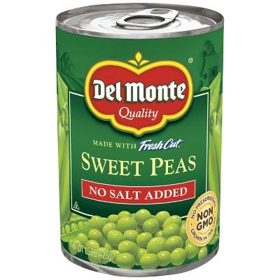 Del Monte Nsa Sweet Peas - 15oz